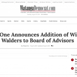 RelayOne Announces Addition to Board of Advisors